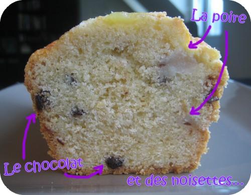 Recette Cake Poire Chocoat
