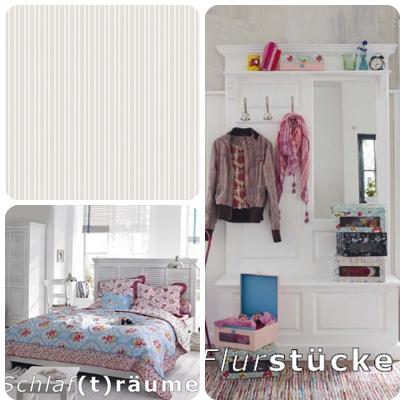 Bett, Garderobe, weiss, Landhaus, Lampe, Stuhl, shabby Chic, Pastellfarben