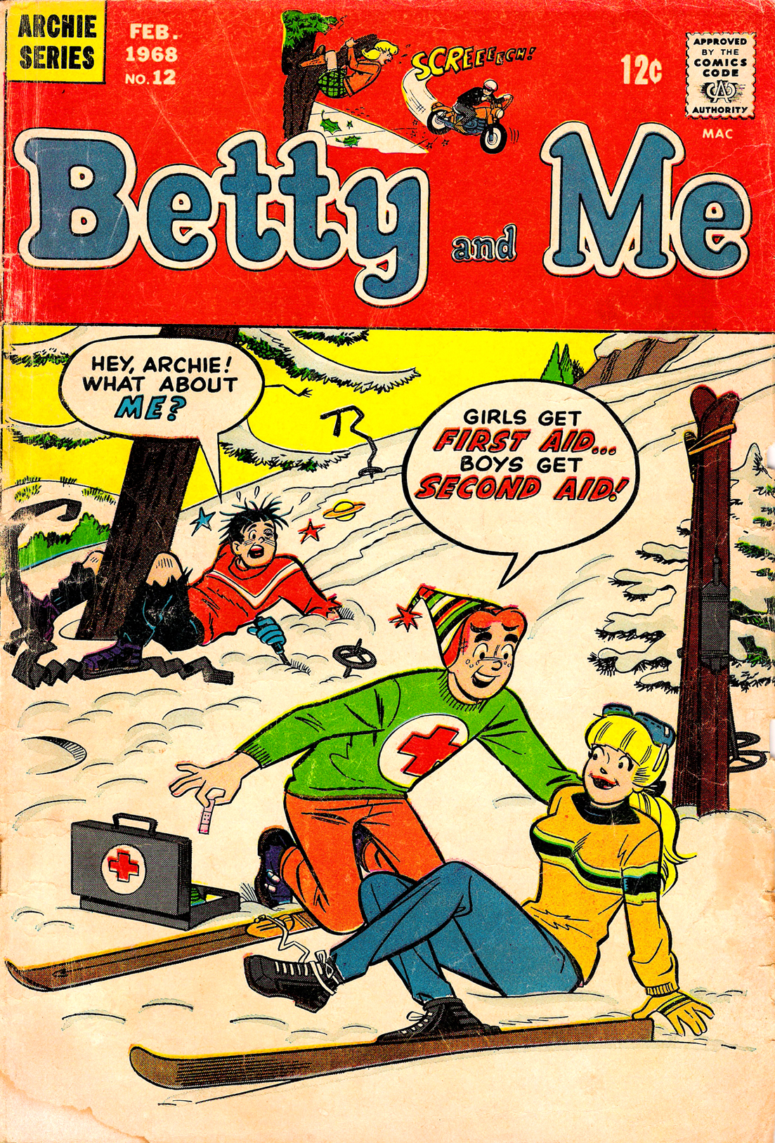 Betty and Me 12 Page 1