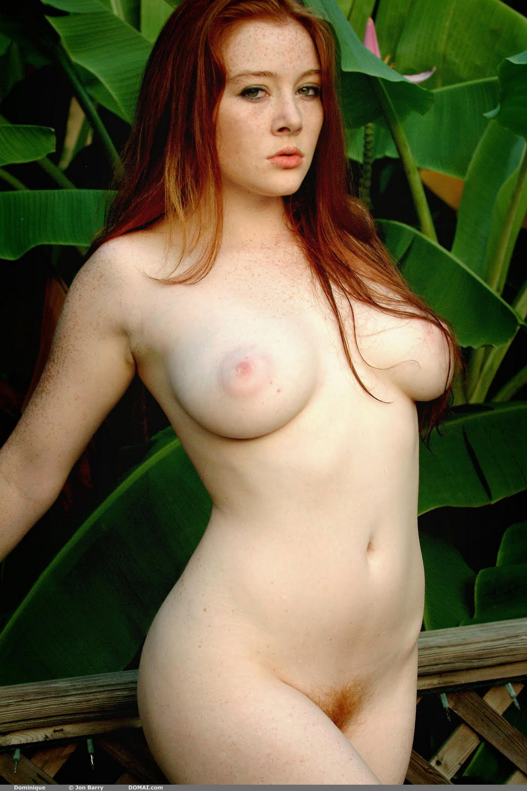 Red Heads Nude In Gym 2