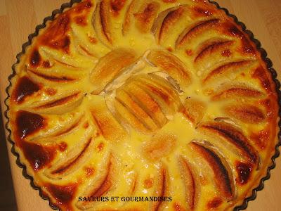saveurs et gourmandises tarte aux pommes l 39 alsacienne. Black Bedroom Furniture Sets. Home Design Ideas