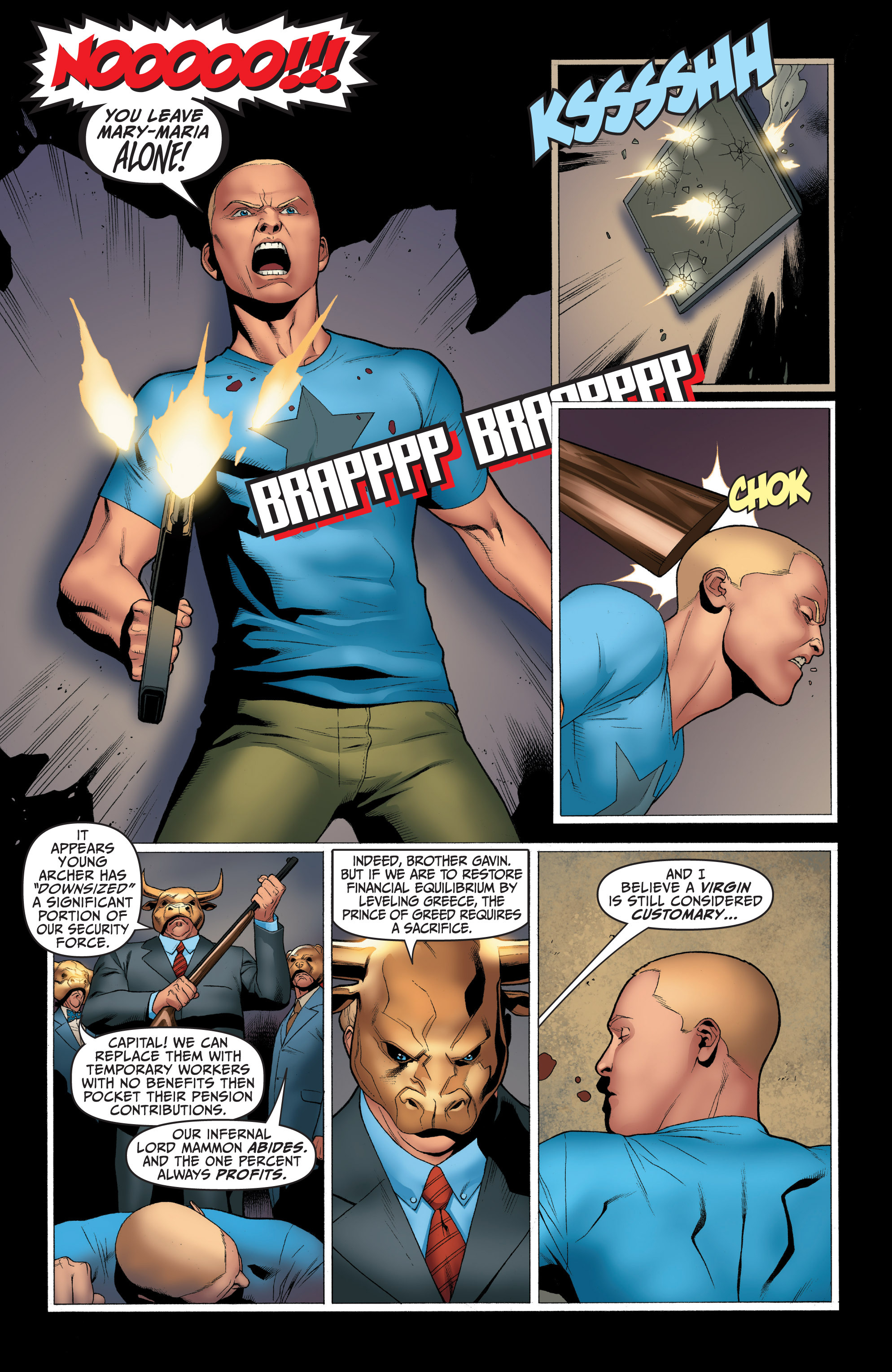 Read online Archer and Armstrong comic -  Issue #Archer and Armstrong _TPB 1 - 34