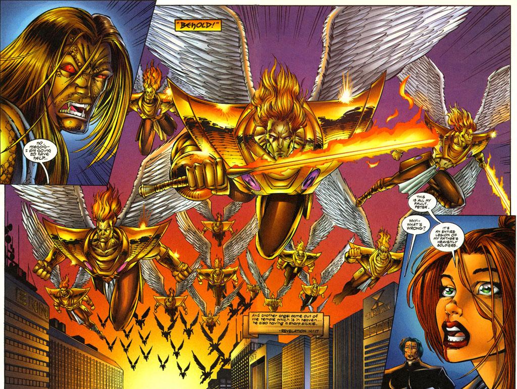 Read online Avengelyne (1996) comic -  Issue #3 - 14