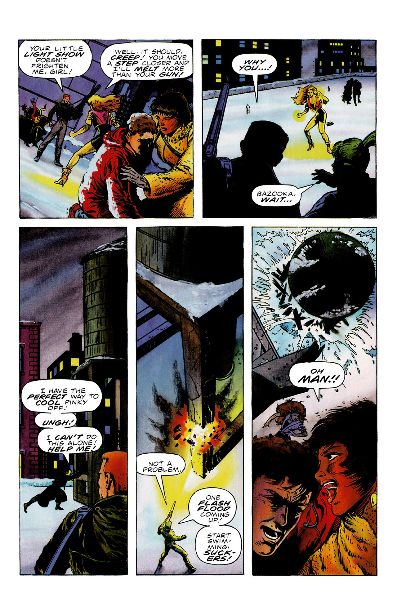 Read online Harbinger (1992) comic -  Issue #16 - 9
