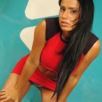 Andrea Rincon, Selena Spice Galeria 2 : Minifalda Roja y Tanga Blanca Foto 20