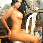 Andrea Rincon, Selena Spice Galeria 4 : Pantalon Azul y Top Transparente Foto 144