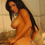 Andrea Rincon, Selena Spice Galeria 4 : Pantalon Azul y Top Transparente Foto 106