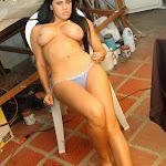 Andrea Rincon, Selena Spice Galeria 4 : Pantalon Azul y Top Transparente Foto 154