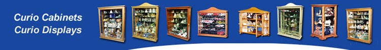 Bill's Custom Woodworks - Curio Cabinets