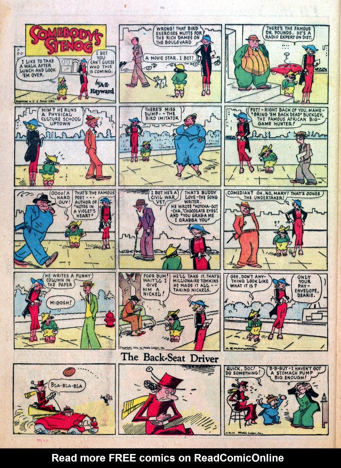 Read online Famous Funnies comic -  Issue #7 - 54
