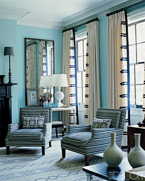 Window Treatment Ideas: Belle Maison: Window Treatment Ideas: Side Panels