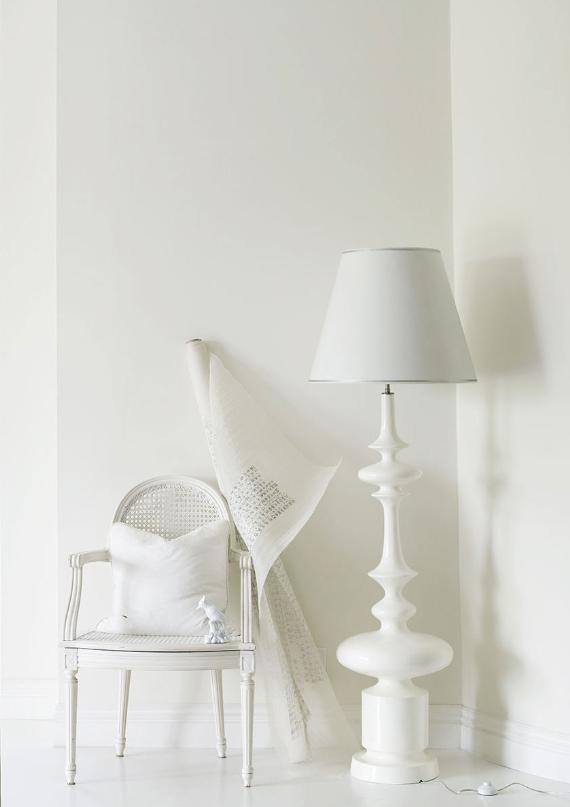 All White Interior Design Of The Homewares Designer Home: Belle Maison: White Delight
