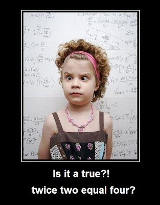 Why is trigonometry needed? Twice two equal four? Mathematics For Blondes.