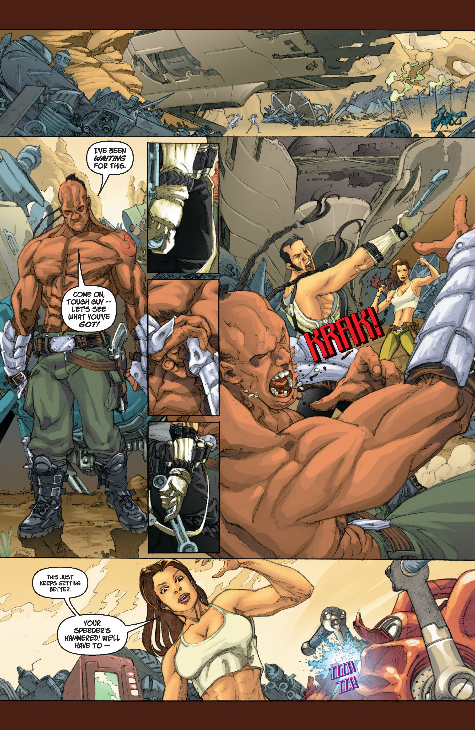 Read online Star Wars Omnibus comic -  Issue # Vol. 22 - 121