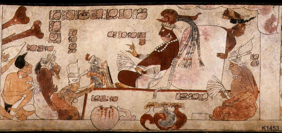 Resultado de imagen para la reina roja de los mayas