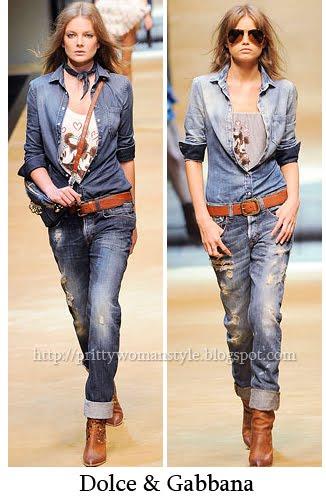 джинси D&G