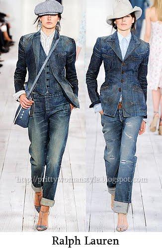 джинсови дрехи изцяло в деним
