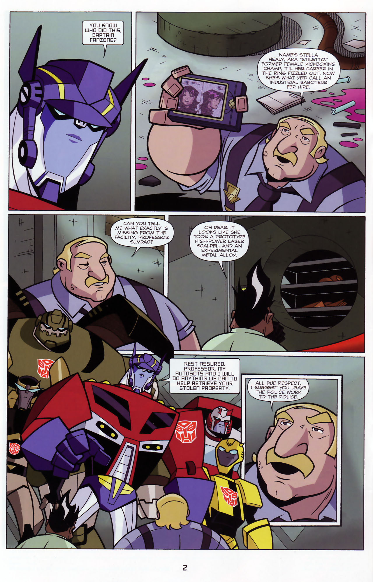Read online Transformers Animated: The Arrival comic -  Issue #3 - 4