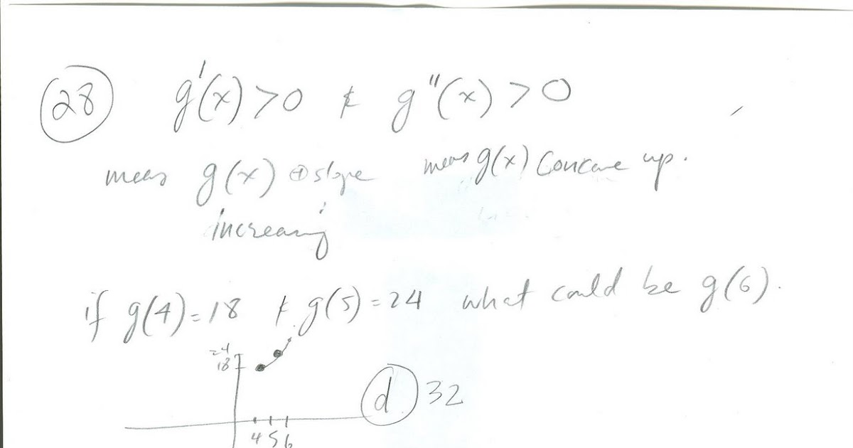 Math-Talk-Blog: Calculus Solutions- Practice AP Exam