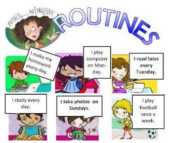 Routine Englisch