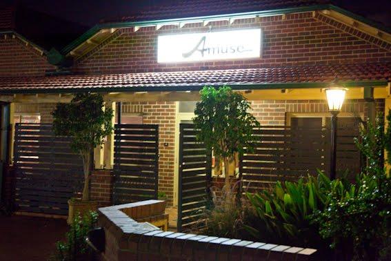 Amuse Restaurant East Perth