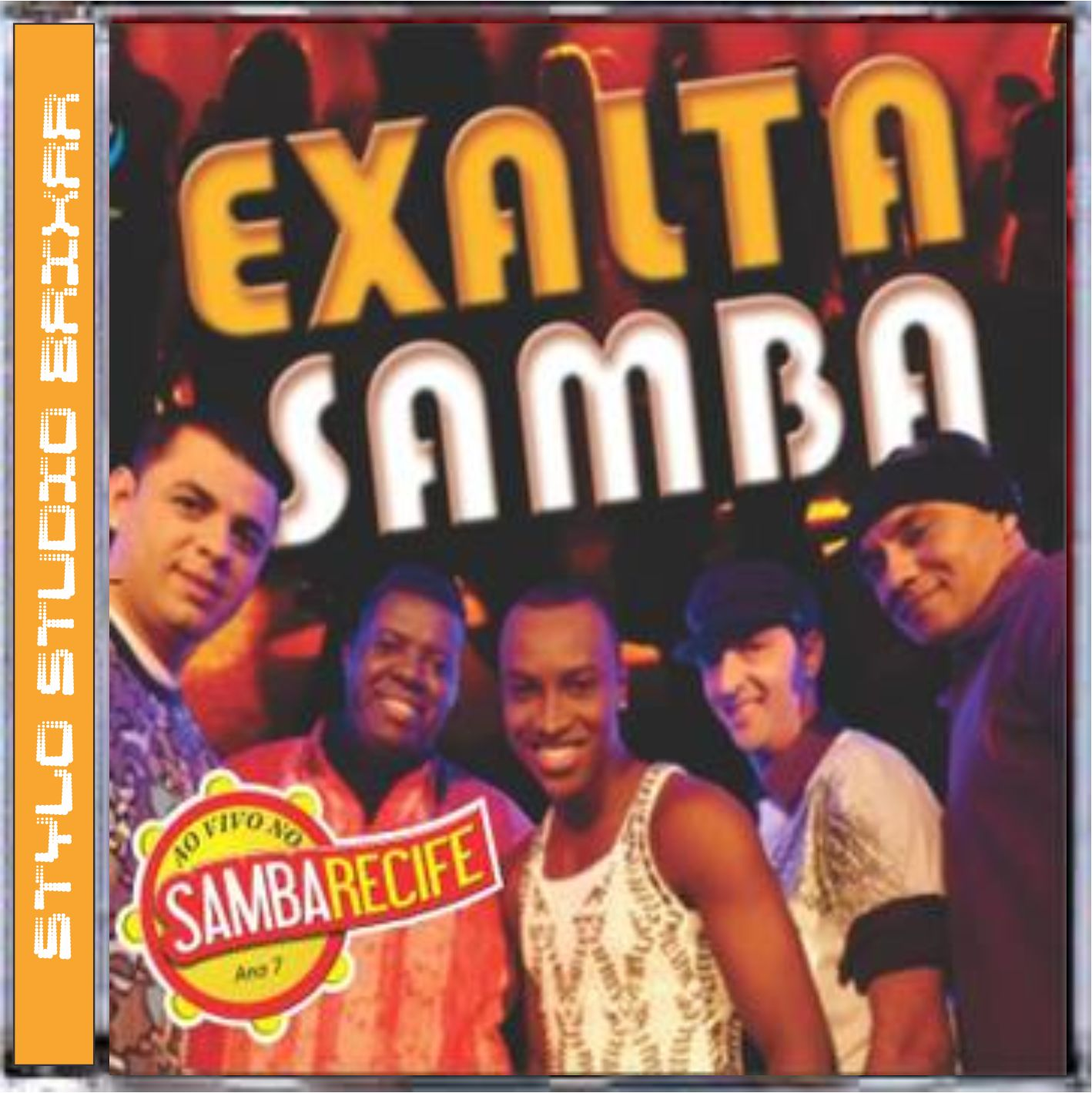 cd de exaltasamba no samba recife 2011