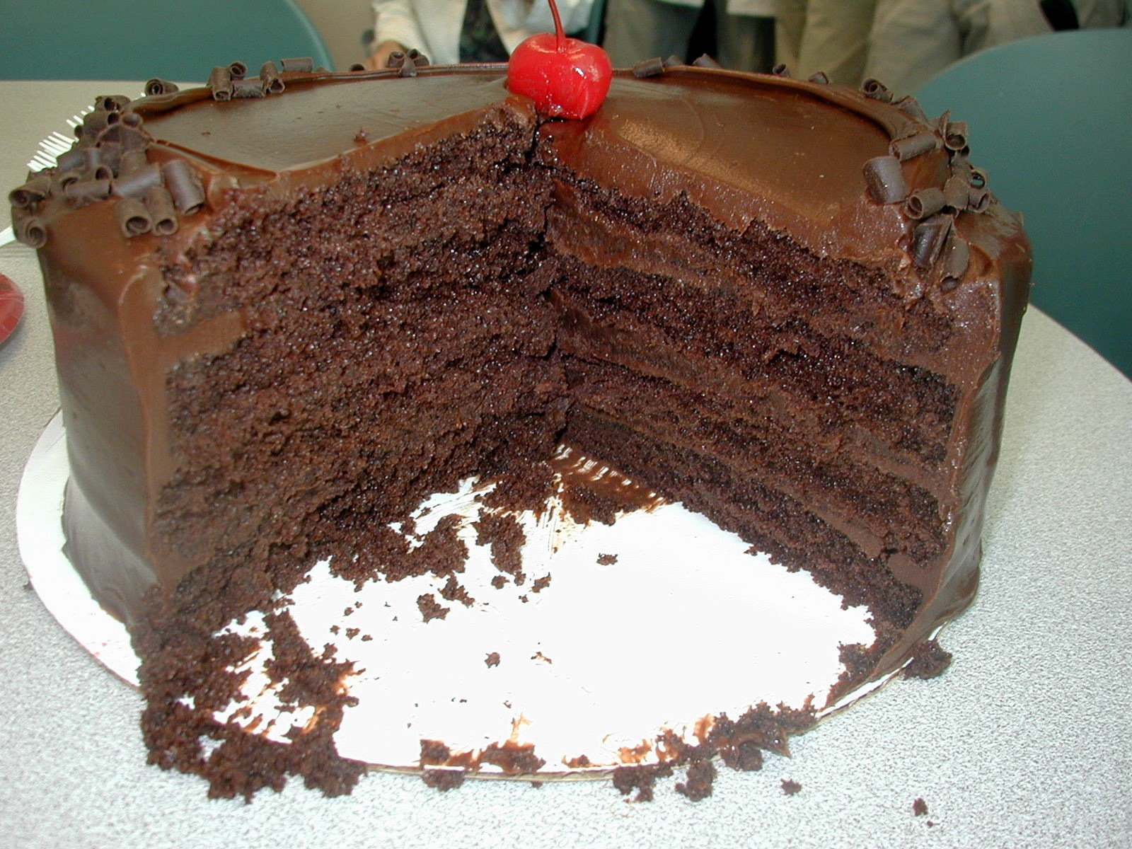 Chocolate Cake Rooters