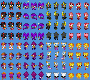 Sonic Riders Sprites For Game Maker - streamnewline
