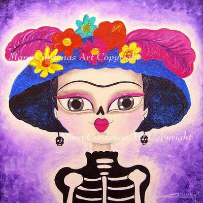 Frida Catrina Magical Art Of Mara