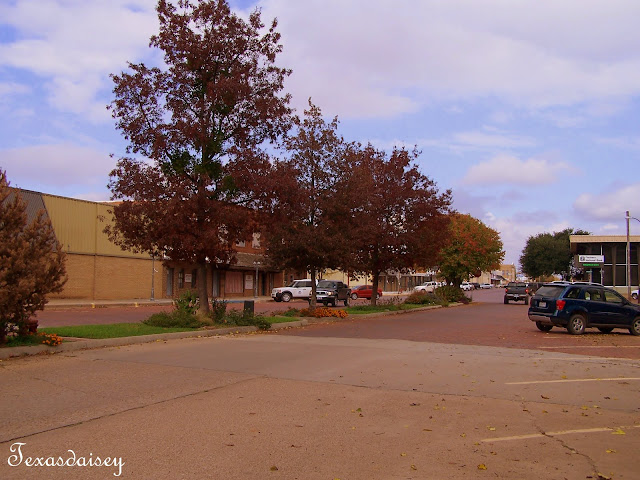 Seymour Texas Downtown area