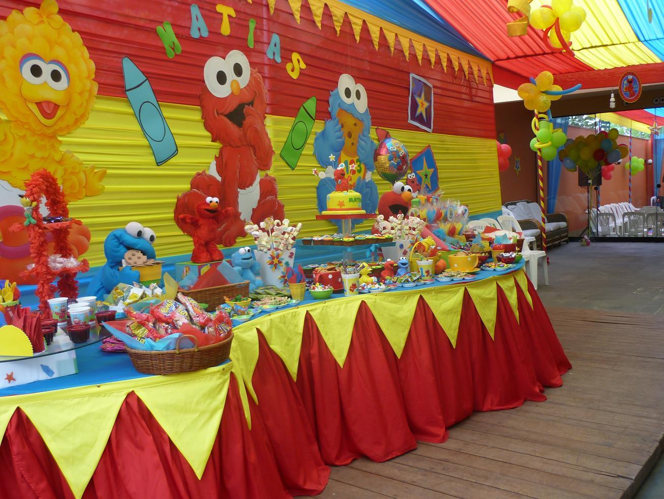 Warma sunqu happy catering fiestas infantiles Mesa de cumpleanos infantil