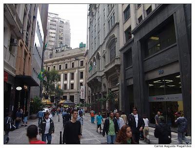 Rua XV de Novembro, São Paulo