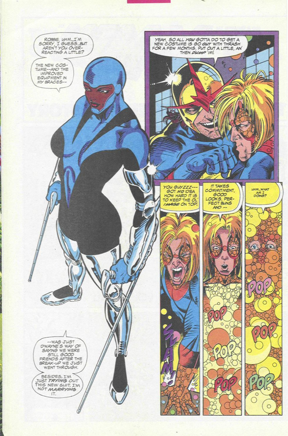 The New Warriors Issue #45 #49 - English 8