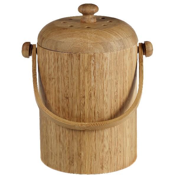 Kitchen Compost Container: White Canvas Designs: Countertop Compost Bin