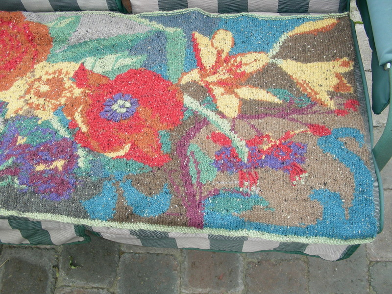 Penny Rugs And More Nonna S Garden Shawl By Mary