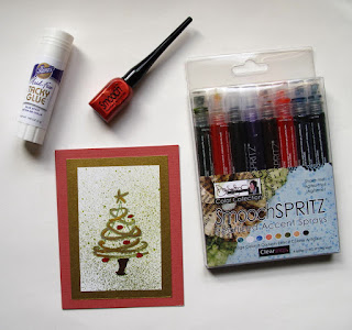 Smooch™ Pearlized Accent Ink  product review and card inspiration