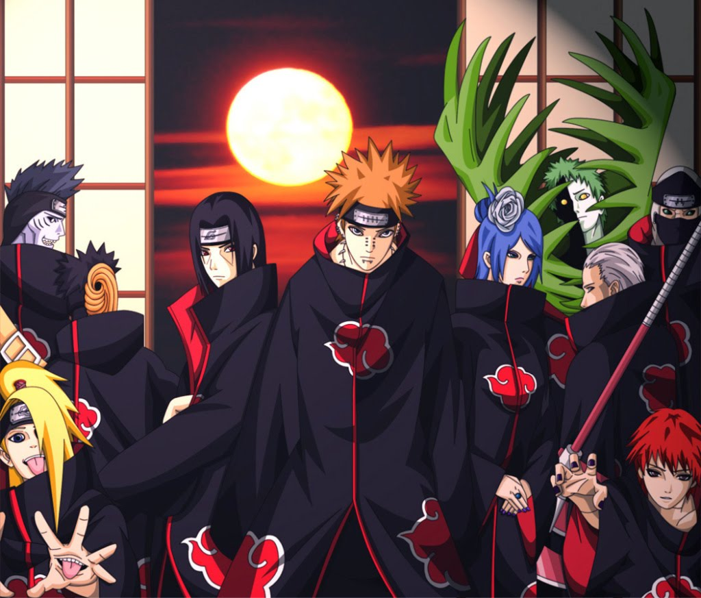 Naruto Anime Wallpapers: Akatsuki Team