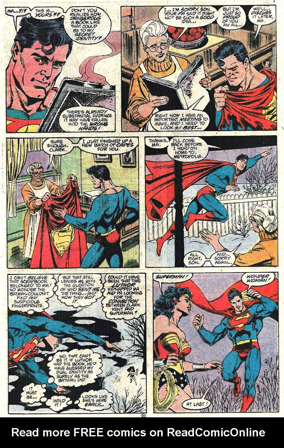 Read online Adventures of Superman (1987) comic -  Issue #440 - 21