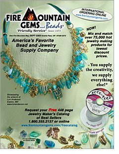 09314f46a Pretty Things: Fire Mountain Gems Back Cover Artist