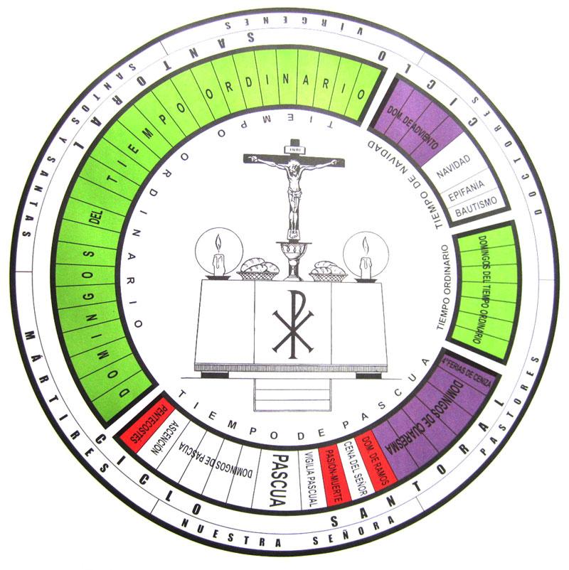 calendario liturgico 2012 da