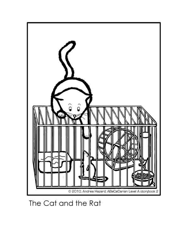 Andrea Hazard Children's Books: The Cat and the Rat
