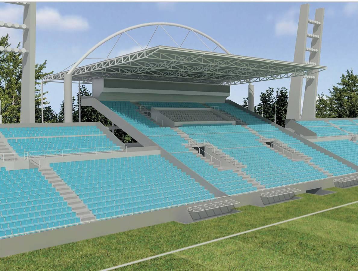 815fe17f6bcb5 Maquetes do Projeto de Requalificação do Estádio Presidente Vargas
