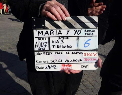 Movie-clacker Yo y Maria