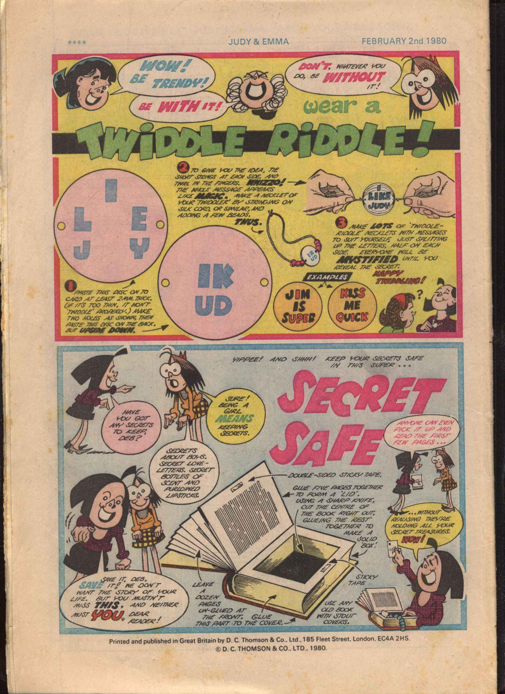 Read online Judy comic -  Issue #1047 - 28