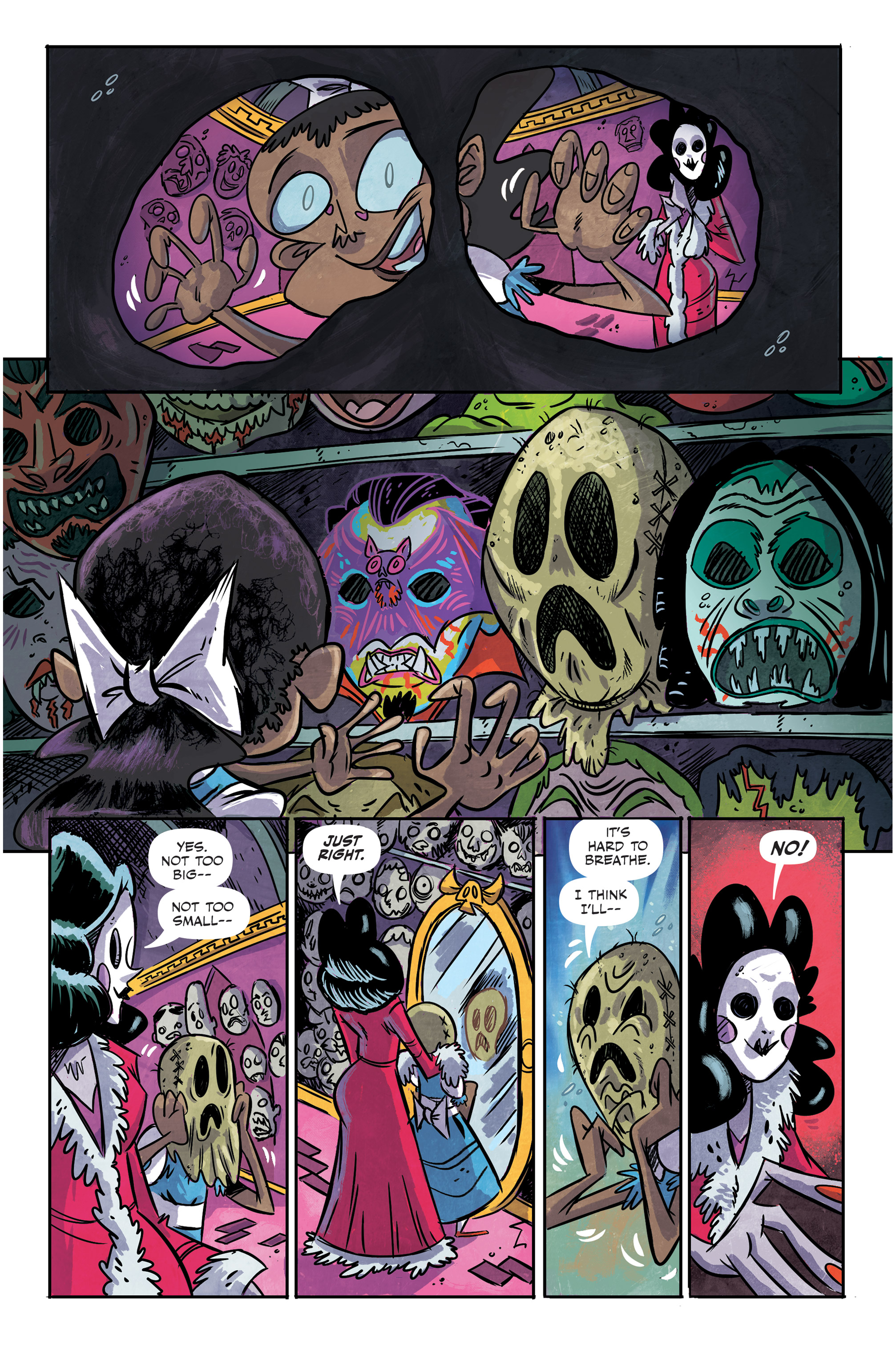 Read online Spook House comic -  Issue #5 - 12