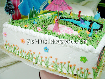 Sisi Lina Princess Birthday Cake