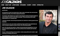Screencap of Joe Calzaghe's apology on his website