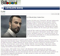 Tarkan on Billboard