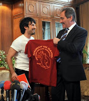 Tarkan in talks with the Turkish Minister for Culture and Tourism
