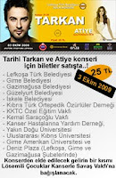 Ticket to Tarkan's show